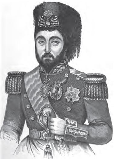 Mustafa Reşid Paşa (c. 1800 – c. 1858), engraving, 1906, unknown artist; source: Wright, John Henry: A history of all nations from the earliest times, Philadelphia et al.