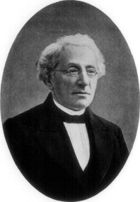 Portrait von Max Lilenthal (1815–1882), 1913, unbekannter Künstler; Bildquelle: Raisin, Jacob S.: The Haskalah Movement in Russia, Philadelphia 1913, S. 121, Digitalisiert von: Project Gutenberg, http://www.gutenberg.org/files/15921/15921-h/15921-h.htm.