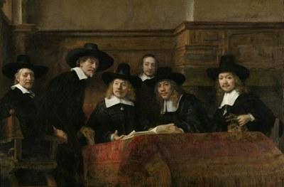 Rembrandt Harmenszoon van Rijn (1606–1669), Die Staalmeesters, Öl auf Leinwand, 1662; Bildquelle: © Rijksmuseum Amsterdam.