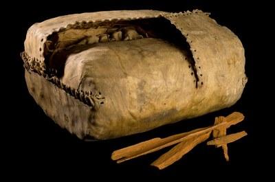 Tasche zur Aufbewahrung von Chinarinde, Peru, 1777–1785