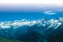Der Monviso (mit 3.841 Metern höchster Gipfel der Cottischen Alpen), Farbphotographie, unbekannter Photograph, Bildquelle: Mit freundlicher Genehmigung des Henri-Arnaud-Hauses Ötisheim-Schönenberg.