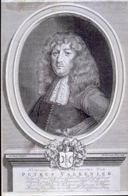 Der niederländische Gesandte Pieter Valkenier (1641–1712), Kupferstich von Abraham van der Wenne (ca. 1656–1693) nach Mathäus Merian, 1677, Bildquelle: Mit freundlicher Genehmigung des Henri-Arnaud-Hauses Ötisheim-Schönenberg.