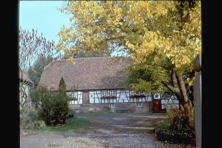 Ehemaliges Wohnhaus von Henri Arnaud (1641-1721) in Schönenberg, Farbphotographie, unbekannter Photograph, Bildquelle: Mit freundlicher Genehmigung des Henri-Arnaud-Hauses Ötisheim-Schönenberg.