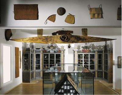 Kunst- und Naturalienkammer, Halle: Blick in den Innenraum IMG