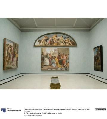 Acht Wandgemälde aus der Casa Bartholdy in Rom, 1816–1817
