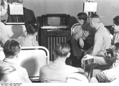 Fernsehen im deutschen Lazarett 1942 IMG