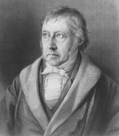 Lazarus Sichling (1812-1863) nach einer Litogrphie von Julius L. Sebbers (1804-1837), Portrait von Georg Wilhelm Friedrich Hegel (1770-1831), Stahlstich, nach 1828; Bildquelle: Wikimedia Commons, http://commons.wikimedia.org/wiki/File:Hegel.jpg.