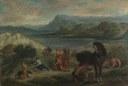 Eugène Delacroix, Ovid bei den Skythen, 1859