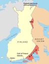 Karte Winterkrieg 1940