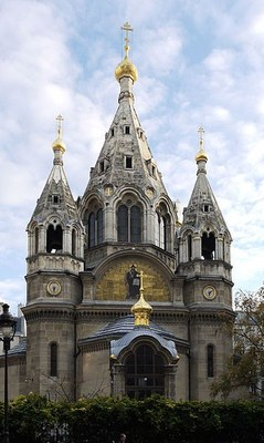 Orthodox Church Saint Alexandre Nevski in Paris IMG