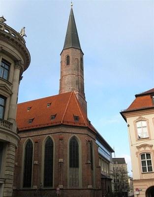St. Salvator Church in Munich IMG