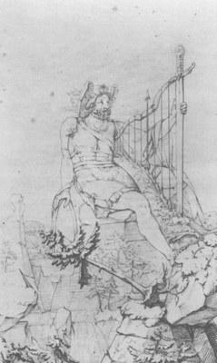 Philipp Otto Runge (1777–1810): Ossian, 1805, 39.8 × 24 cm, pen and ink / pencil, source: http://www.zeno.org - Contumax GmbH & Co. KG. http://www.zeno.org/Kunstwerke/B/Runge,+Philipp+Otto%3A+Ossian. Public Domain.