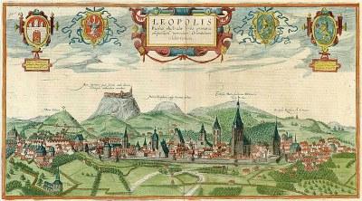 Lemberg (Leopolis) um 1618 IMG