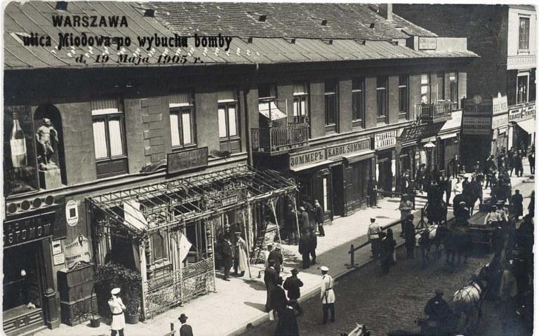 Warschauer Einkaufsstraße 1905 IMG