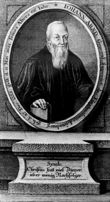 Portrait von Johann Arndt (1555–1621), unbekannter Künstler; Bildquelle: Mit freundlicher Genehmigung der Pressestelle der Evangelischen Landeskirche in Württemberg