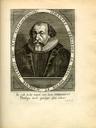 Portrait von Johann Gerhard (1582–1637), Kupferstich, 17. Jahrhundert, unbekannter Künstler; Bildquelle: Digitalisat der Universität Mannheim, MATEO, http://www.uni-mannheim.de/mateo/desbillons/aport/gif/aport369.gif.