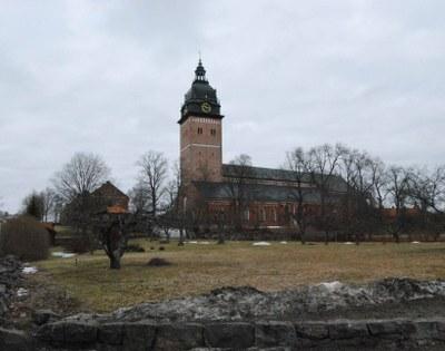 Die Domkirche zu Strängnäs, Farbphotographie, 2010, Photograph: Otfried Czaika; Bildquelle: Privatbesitz.