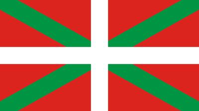 Flagge der autonomen Region Baskenland, Bildquelle: Wikimedia Commons, online: http://commons.wikimedia.org/wiki/File:Flag_of_the_Basque_Country.svg?uselang=de