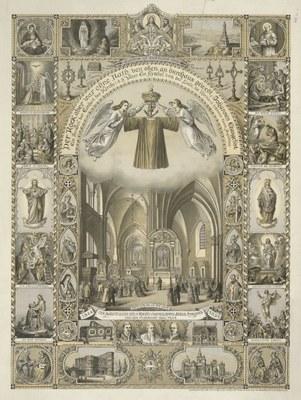 Erinnerung an die Heilig-Rock-Wallfahrten 1844 und 1891