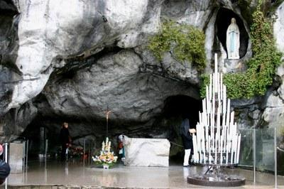 Grotte von Lourdes