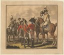 Saxon Gardes du Corps, coloured aquatint supposedly by or after Aster, 28.5 x 24.5 cm., 1806; source: Anne S.K. Brown Military Collection, Brown University Library, http://dl.lib.brown.edu/catalog/catalog.php?verb=render&id=1201277480515625.