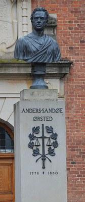 Büste von Anders Sandøe Ørsted (1778–1860)