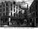 Anonymous: Garraway's Coffee House, from Walter Thornbury, Old and new London: a narrative of its history, its people, and its places, vol 2, p. 174.  London : Cassell, Petter, & Galpin, 1873. Source: archive.org https://archive.org/stream/oldnewlondonnarr02thor#page/174/mode/2up via https://baldwinhamey.wordpress.com/2012/10/06/garraways-coffee-house/.