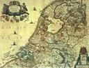 "Jan Janssonius (1588–1664), ""Belgii Foederati Nova Descriptio"", Landkarte, Niederlande 1658; Bildquelle: wikimedia commons, http://commons.wikimedia.org/wiki/File:Seven_United_Netherlands_Janssonius_1658.jpg."