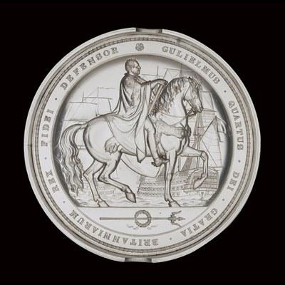Wyon, Benjamin (1802–1858): Great Seal of England of King William IV, Gravur, 1831; Bildquelle: British Museum, http://www.britishmuseum.org/explore/highlights/highlight_objects/pe_mla/g/great_seal_of_england_of_king.aspx.
