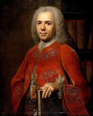Künstler: Dominicus van der Smissen (1704-1760), Bildquelle: Universitätsbibliothek Erlangen, Handschriftenabteilung, Lesesaal http://www.ub.uni-erlangen.de/sammlungen/handschriften.shtml