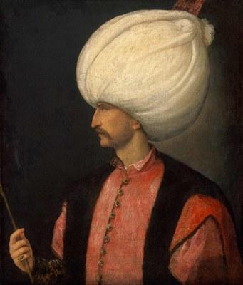Portrait von Sultan Süleyman I. (ca. 1494–1566), Öl auf Leinwand, um 1530, unbekannter Künstler; Bildquelle: Kunsthistorisches Museum Wien.
