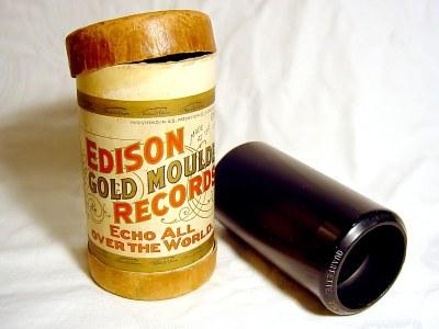Edison Goldguß-Walze, ca. 1904