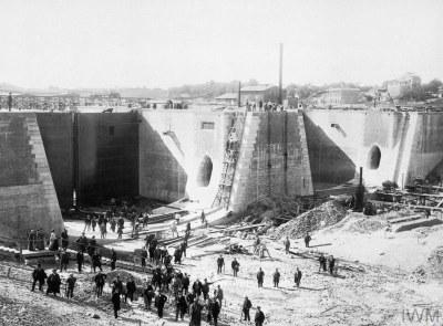 Bau des Nord-Ostsee-Kanals