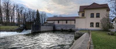 Kraftwerk in Schöngeising