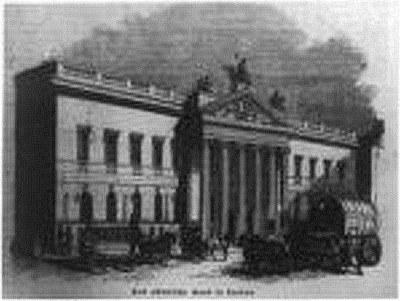 The East Indian House in London, 1843, Schwarz-weiß-Photographie, unbekannter Photograph; Bildquelle: Library of Congress, LC-USZ62-52668, http://www.loc.gov/pictures/item/2006682488/.