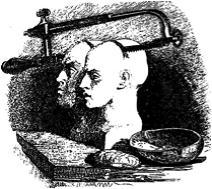 """J.J. Grandville (1803–1847), Illustration aus """"Gullivers Reisen"""", 1843; Bildquelle: Swift, Jonathan: Gullivers Reisen in unbekannte Länder, Stuttgart 1843, vol. 2, S. 76."""