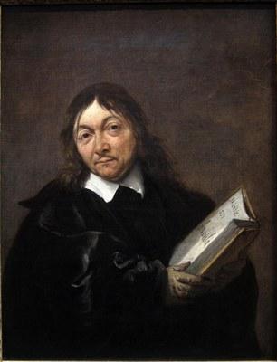 Jan Baptist Weenix (1621–1659), Portrait von René Descartes (1596–1650), Öl auf Leinwand, 45,1 x  34,9 cm, ca. 1647–1649; Bildquelle:  © Collectie Centraal Museum, Utrecht/Ruben de Heer http://www.centraalmuseum.nl/page.ocl?pageid=48&mode=&version=