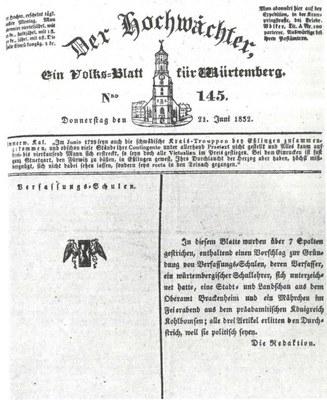 """Zensurlücken im """"Hochwächter"""" IMG"""